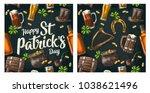 Seamless Pattern Saint Patrick...