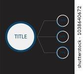 illustration of infographic... | Shutterstock . vector #1038640672