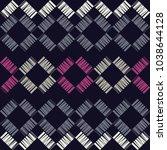 seamless geometric pattern.... | Shutterstock .eps vector #1038644128
