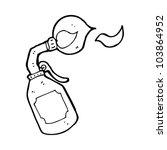 cartoon blow torch | Shutterstock .eps vector #103864952