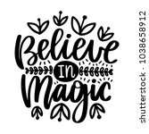 vector poster with phrase and... | Shutterstock .eps vector #1038658912
