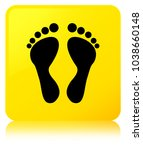 footprint icon isolated on... | Shutterstock . vector #1038660148