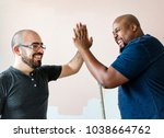 people renovating the house... | Shutterstock . vector #1038664762