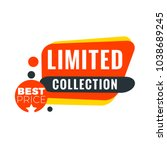sale bunner template. vector... | Shutterstock .eps vector #1038689245