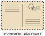 Vintage Postcard  Vector Design