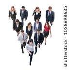 going business people behind...   Shutterstock . vector #1038698635