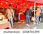 meulan en yvelines   france  ... | Shutterstock . vector #1038701395