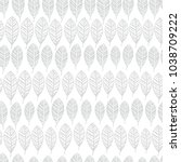 vector floral seamless pattern. ... | Shutterstock .eps vector #1038709222