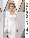 jane fonda at the 90th annual... | Shutterstock . vector #1038725596