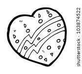 cartoon heart | Shutterstock .eps vector #103874522