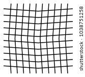 wavy  zig zag  criss cross grid ...   Shutterstock .eps vector #1038751258