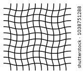wavy  zig zag  criss cross grid ...   Shutterstock .eps vector #1038751288