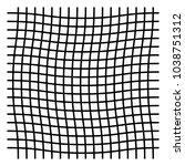 wavy  zig zag  criss cross grid ...   Shutterstock .eps vector #1038751312