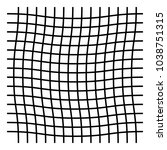 wavy  zig zag  criss cross grid ... | Shutterstock .eps vector #1038751315