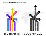 conceptual better choice.... | Shutterstock .eps vector #1038754222