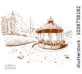 st.andrews scottish town  ...   Shutterstock .eps vector #1038758182