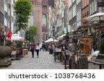 gdansk  poland   june 07  2014  ... | Shutterstock . vector #1038768436