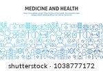 medicine health concept. vector ...   Shutterstock .eps vector #1038777172