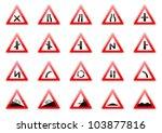 vector illustration of glossy... | Shutterstock .eps vector #103877816