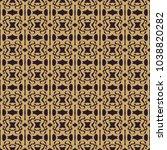 vintage pattern art design | Shutterstock .eps vector #1038820282