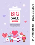 anniversary event popup | Shutterstock .eps vector #1038821806