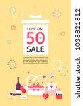anniversary event popup | Shutterstock .eps vector #1038821812