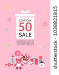 anniversary event popup | Shutterstock .eps vector #1038821815