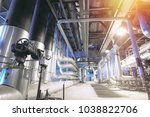 industrial zone  steel... | Shutterstock . vector #1038822706