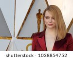 Small photo of Emma Stone at the 90th Annual Academy Awards held at the Dolby Theatre in Hollywood, USA on March 4, 2018.