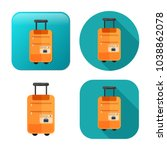 travel luggage icon   travel... | Shutterstock .eps vector #1038862078