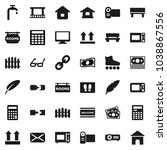 flat vector icon set   welcome... | Shutterstock .eps vector #1038867556