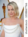 Small photo of Margot Robbie at the 90th Annual Academy Awards held at the Dolby Theatre in Hollywood, USA on March 4, 2018.