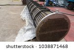 a heat exchanger bundle. | Shutterstock . vector #1038871468