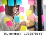 creative business people... | Shutterstock . vector #1038878968