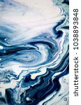 very beautiful marbleized... | Shutterstock . vector #1038893848