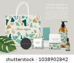 beautiful terrazzo pattern on... | Shutterstock .eps vector #1038902842