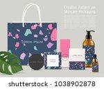 beautiful terrazzo pattern on... | Shutterstock .eps vector #1038902878