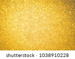 gold glitter background and... | Shutterstock . vector #1038910228