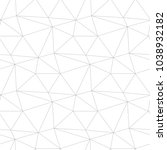 polygonal light gray geometric... | Shutterstock .eps vector #1038932182