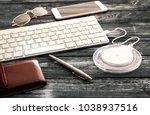 beautiful and stylish... | Shutterstock . vector #1038937516