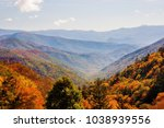 overlook  blue sky vista  great ... | Shutterstock . vector #1038939556