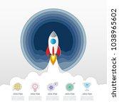 creative concept for... | Shutterstock .eps vector #1038965602