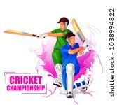 vector illustration of sports... | Shutterstock .eps vector #1038994822
