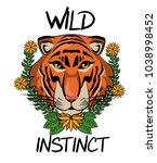 wild animal print for t shirt   Shutterstock .eps vector #1038998452