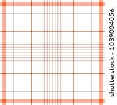 tartan traditional checkered... | Shutterstock .eps vector #1039004056