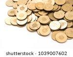 coin  ntd  money  taiwan coin ... | Shutterstock . vector #1039007602