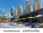 dubai  uae   november 30  2017  ... | Shutterstock . vector #1039014982