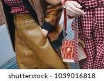milan  italy   february 22 ... | Shutterstock . vector #1039016818