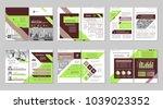 brochure creative design.... | Shutterstock .eps vector #1039023352