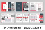 brochure creative design.... | Shutterstock .eps vector #1039023355